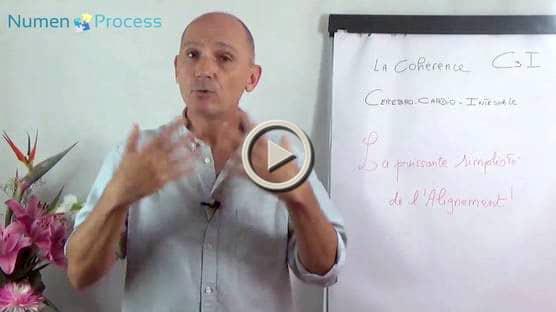 Vidéo de présentation de la C3I ou Cohérence cérébro Cardio Intestinale dans la méthode Numen Process