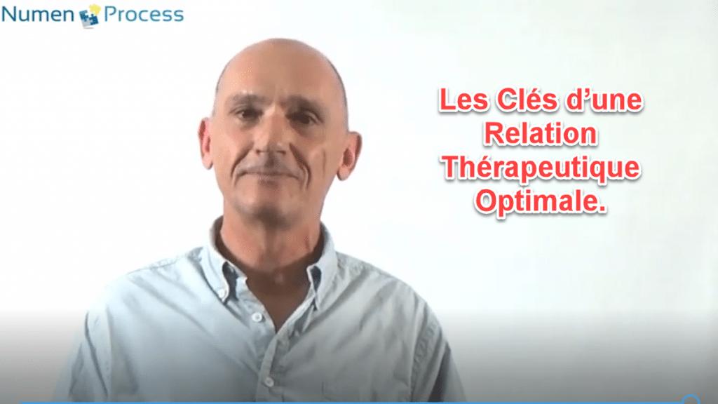 Webinaire Numen Process et Les clés d'une relation thérapeutique optimale
