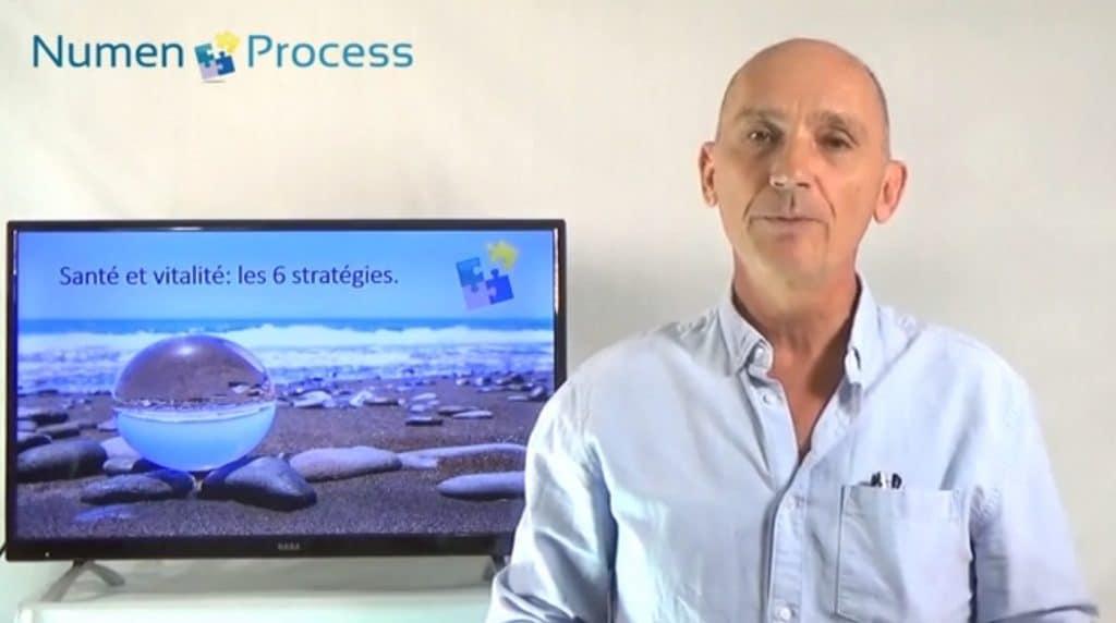 """Webinaire """"Numen Process, Santé et Vitalité : 6 stratégies indispensables"""" par le Docteur Leroy"""
