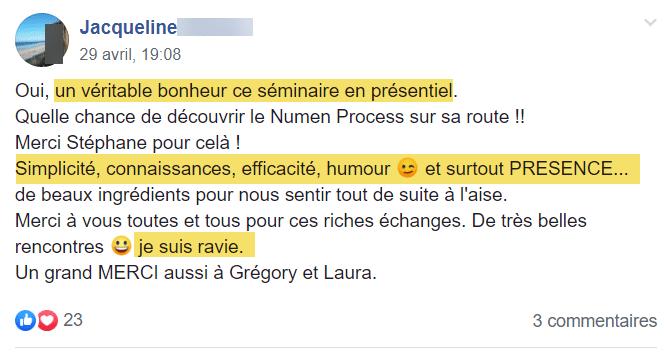 Témoignage-Avis-Séminaire-Numen-Process-Jacqueline